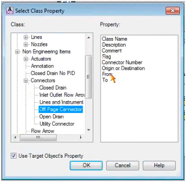 AutoCAD P&ID Off Page Connector Automation