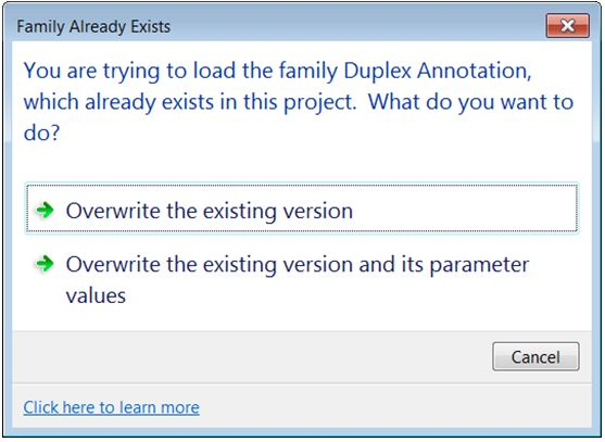 how to create annotation family in revit