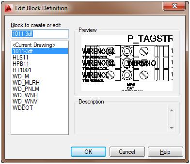 Edit Block Definition