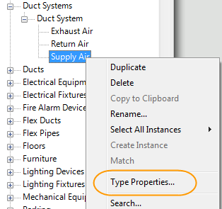 How to Change Revit MEP Default System Colors